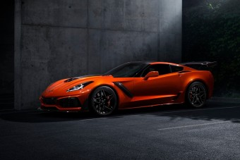 Megérkezett a legdurvább Corvette