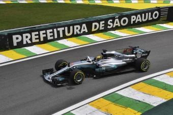 F1: Hamilton duplázott Interlagosban