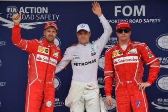 F1: Bottas összezavarodott az időmérő után