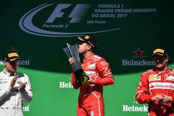 F1: Vettel nyert, de Massa a dobogó sztárja Brazíliában