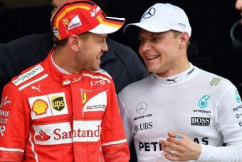 F1: Vettel küzd a második helyért