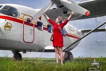 Csajok és repülők: így reklámozott a Szovjetunió nyugaton