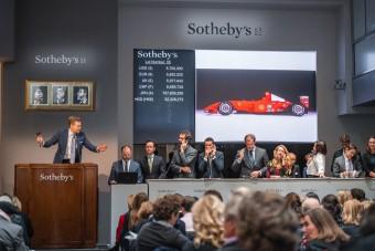 F1: Őrületes áron kelt el Schumi Ferrarija