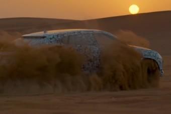 Hóban, homokban is állat a Lamborghini terepjárója