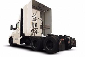 Kinyitható gallértól lesznek takarékosabbak a nyerges vontatók
