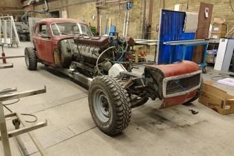Őrült Volvo készül, szívét egy tankból ültették át