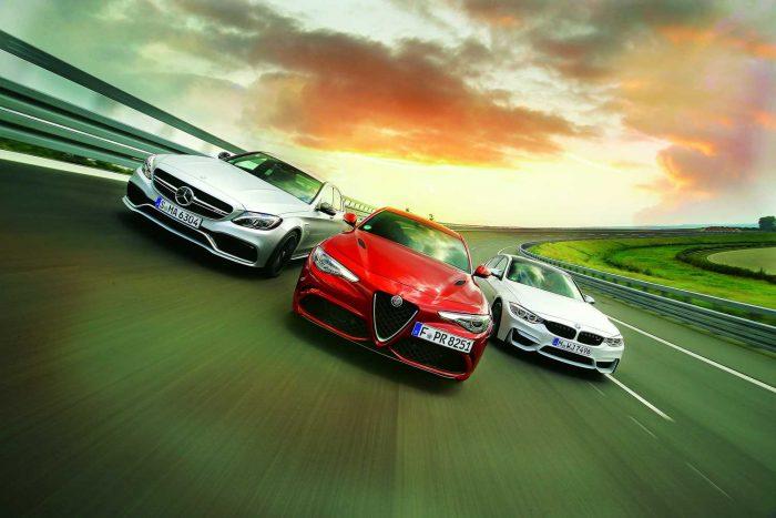 190 kilométer/órás sebességről az Alfa Giulia áll meg a legrövidebb úton. 130-ról is az olasz fékez le a leghamarabb. Mindehhez tökéletes pedálérzet társull