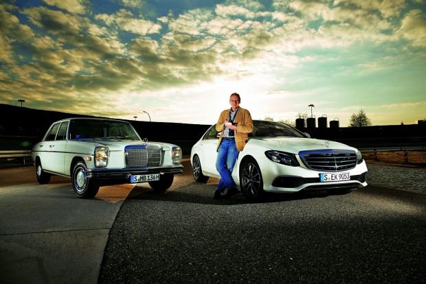 Semmit sem tartott meg a 72-es modellből a Mercedes - csupán a kiegyensúlyozott vezetési élményt