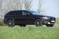 Teszt: Volvo V90 Cross Country D5 AWD