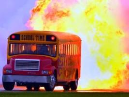Íme a pokol iskolabuszai
