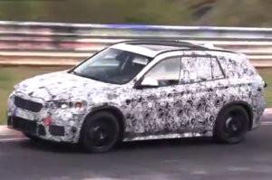 A Nürburgringen tesztel az új BMW-törpe