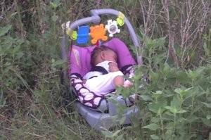 Magára hagyott csecsemőt találtak a bozótban