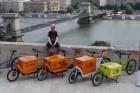 Jönnek a teherbiciklik Budapestre