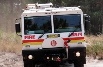 Nagyon komoly cseh tűzoltóautó
