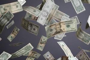 Pénzeső hullott a sztrádára, megállt az élet