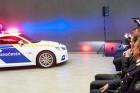 Vadiúj Audi TT a magyar rendőrség kötelékében