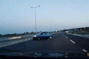 Forgalommal szemben autózott a Miskolci elkerülőn