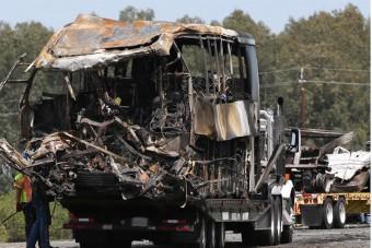 Tragédia: 42 halottja van a francia buszbalesetnek