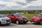 Teszt: Hyundai Tucson 1,6 T-GDi-Nissan Qashqai 1,2 DIG-T-Renault Kadjar 1,2 TCe