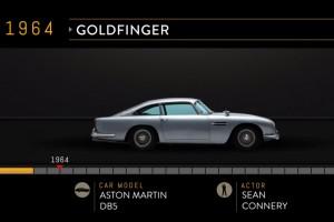 James Bond összes autója két percbe sűrítve