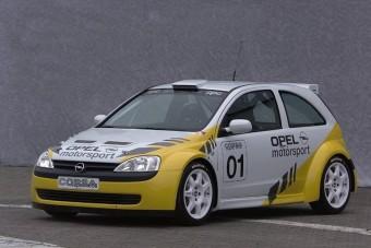 Minta villám- Opel Corsa rali prototípus