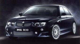 MG X10-Rover 75 sportlimuzin