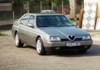Alfa 164 Super 2.0 T.SPARK (1996) - a dögös idegen