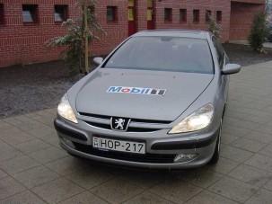 Teszt: Peugeot 607 - Álom luxuskivitelben