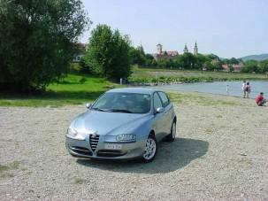 Teszt: Alfa Romeo 147 TS - Minden meg van bocsátva!