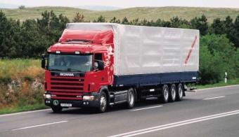 Scania R124 LA 470 - Országúti hangverseny