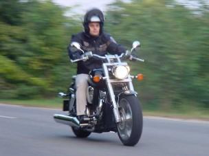 Motorteszt: Honda VTX 1800 - Szelíd óriás