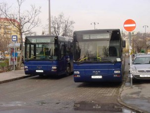 MAN BKV-buszok