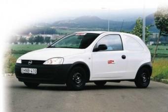 Haszonjármű kicsiben: Opel Corsa Van 1.2 16V