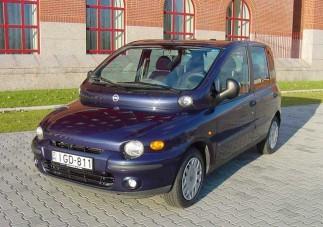 Teszt: Fiat Multipla 1.6 ELX 16V - Meg nem értett zseni