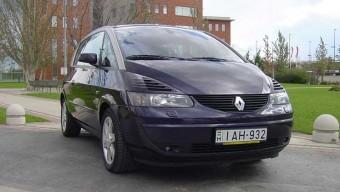 Teszt: Renault Avantime V6 - Adieu konvenciók!