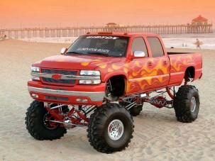 Pokoli Tűz - Chevy Silverado 3500 HD