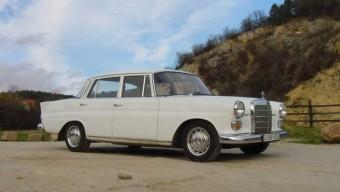 Dízelfecske - Mercedes-Benz 200 D 1965