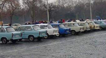 Trabant-Wartburg találkozó - A szilveszter csúcsa