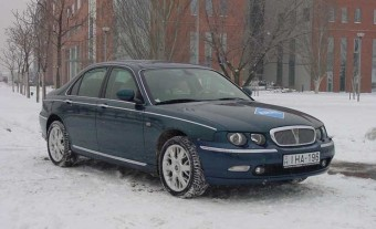 Teszt: Rover 75 1.8 T Club