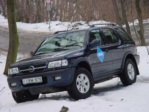 Teszt: Opel Frontera Off Road 2.2 DTI
