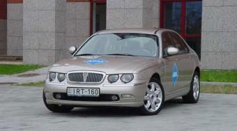 Teszt: Rover 75 CDTi aut. Club - Valódi pompa