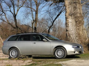 Teszt: Alfa Romeo 156 1.9 JTD Multijet Sportwagon - Jobb útra tért