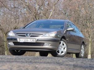 Teszt: Peugeot 607 2.2 HDi Standard - Peugeot luxus-csomagban