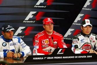 Schumacher fölény a spanyol időmérőn
