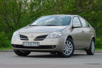 Teszt: Nissan Primera 1.9 dCi Visia - Más dimenzió