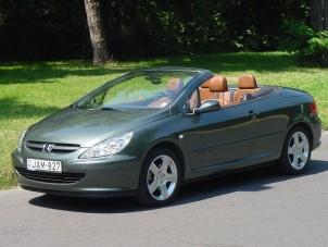 Teszt: Peugeot 307 CC - Nyitott formában
