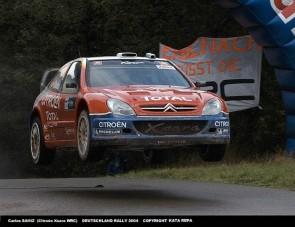 Loeb tarja az első helyét Németországban - Helyszíni tudósítás 2. nap