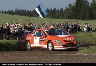 Peugeot-ok az élen - Finn Rali helyszíni tudósítás 1. nap