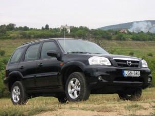 Teszt: Mazda Tribute 2.3i 16V 4x4TE - Betévedt Európába