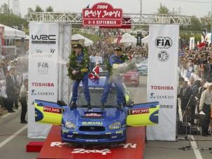 Solberg nyerte a japán versenyt